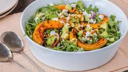 Roasted Pumpkin Salad with Khorasan Wheat