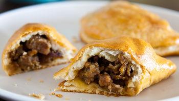 Apple and Sausage Mini Hand Pies