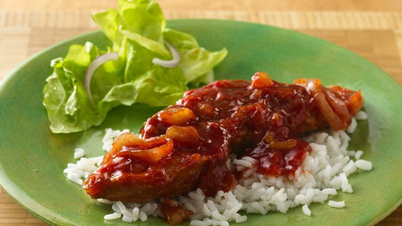 Slow-Cooker Polynesian Pork Ribs