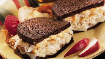 Fish Reuben Sandwiches