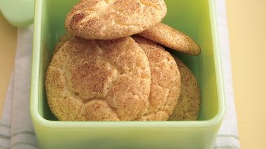 Cake Mix Snickerdoodles
