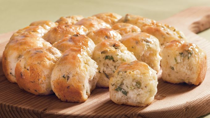 Herbed Pan Biscuits