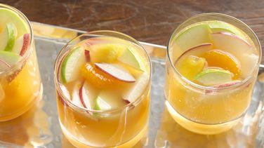 Ponche de Frutas Espumoso