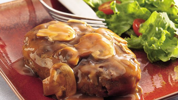 Herbed Salisbury Mushroom Steaks
