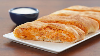 Buffalo Chicken Garbage Bread