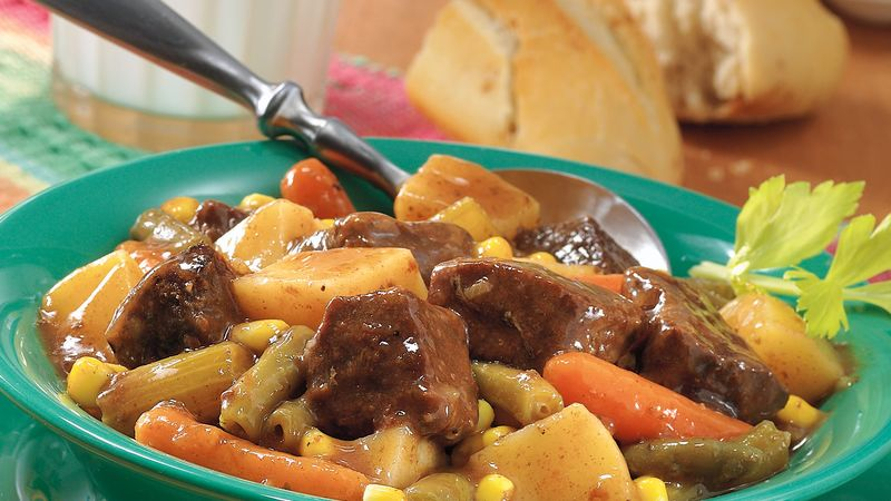 Slow-Simmered Beef Stew