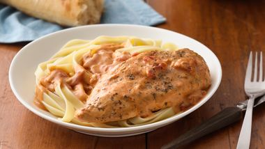 Creamy Tomato Slow-Cooker Chicken