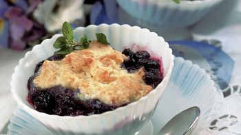 Fresh Blueberry Cobbler