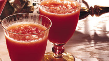 Cranberry-Orange Slush Cocktails