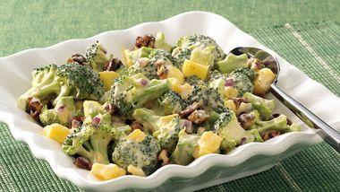 Spicy Broccoli-Mango Salad