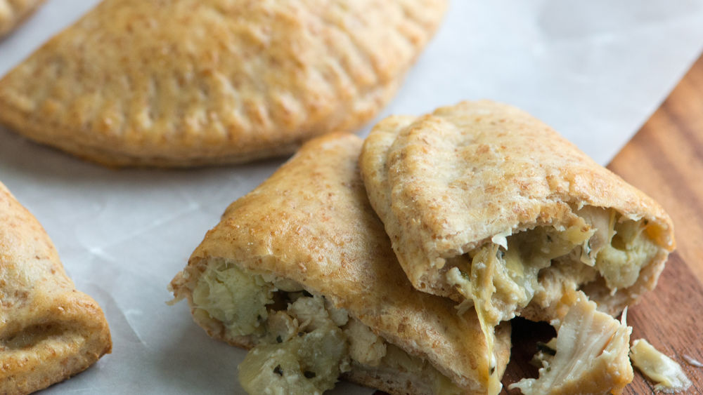 Chicken and Artichoke Hand Pies recipe from Pillsbury.com