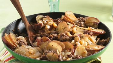 Home-Style Sausage and Potato Skillet