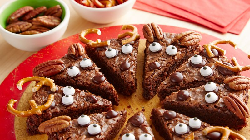 Reindeer Brownies Recipe From Betty Crocker