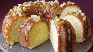 Ginger-Orange Pound Cake