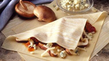 Sausage-Mushroom Pasta Calzones