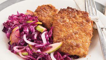 Cumin-Crusted Pork Cutlets