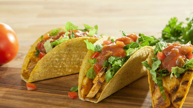 Diced Tomato Stand 'N Stuff™ Chicken Tacos