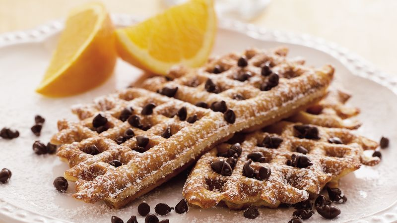 Peanut Butter Waffle Toast recipe from Betty Crocker
