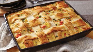 Turkey-Vegetable Pot Pie