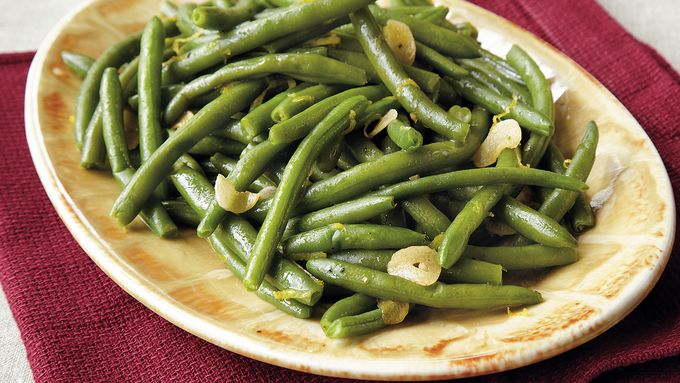 Lemony Beans with Toasted Garlic