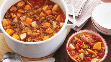 Ground Beef Vegetable Stew