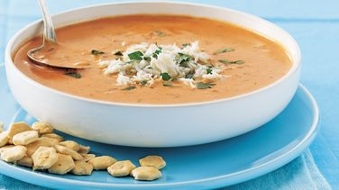 Tomato-Crab Bisque