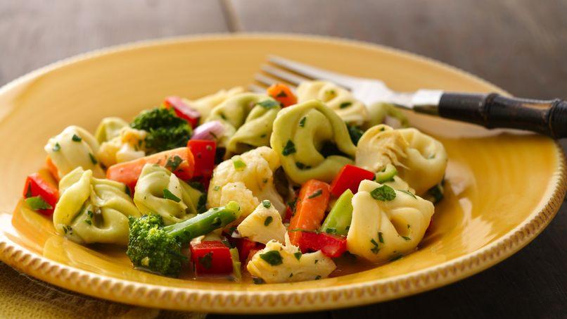 Ensalada de Verduras con Tortellini