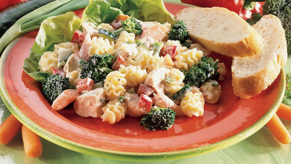 Chicken-Parmesan-Pasta Salad
