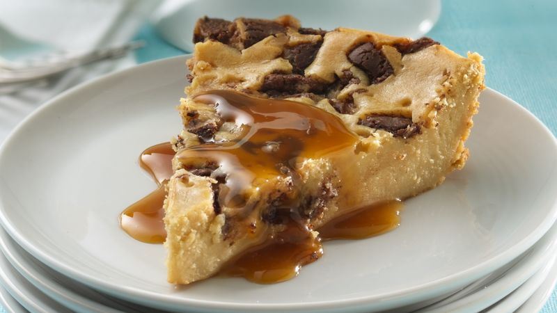Impossibly Easy Toffee Bar Cheesecake