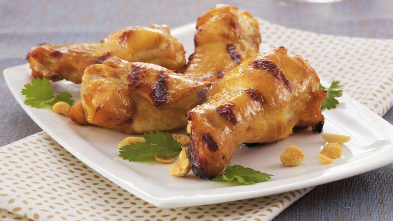 Asian Grilled Chicken Drummies
