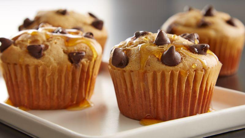 Peanut Butter Pancake Muffins