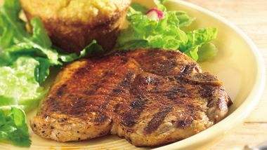 Grilled Southwestern Pork Chops