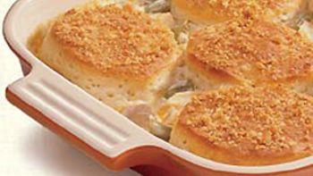 Crunchy Biscuit Chicken Casserole