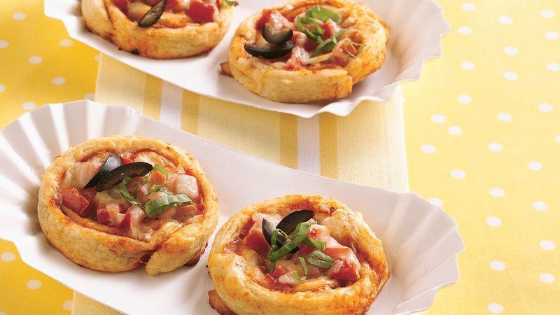 Flaky Pizza Snacks