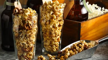 Brown Ale Caramel Corn