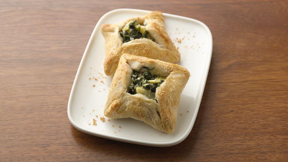 Cheesy Spinach-Artichoke Bites