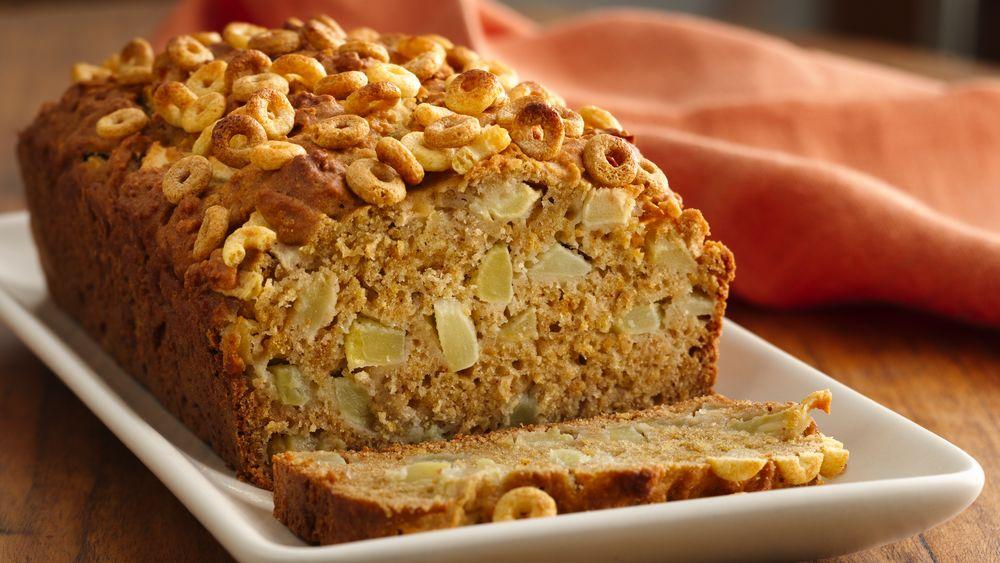 Dulce de Leche Apple Bread
