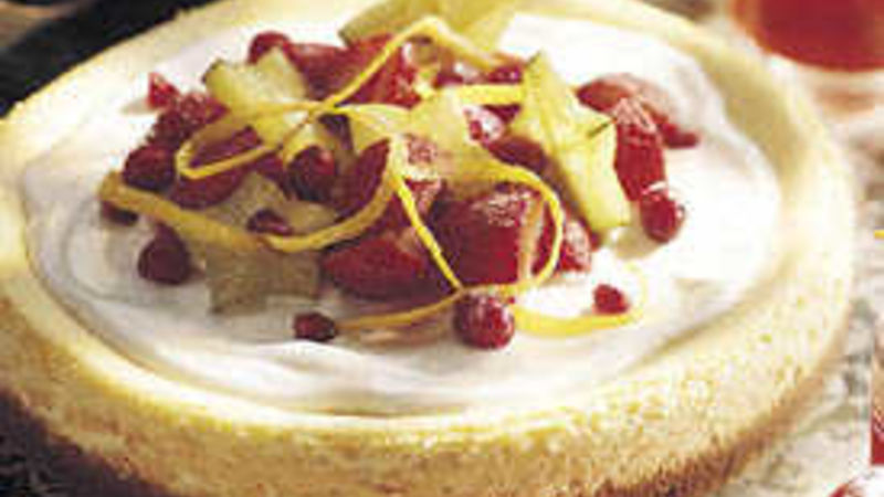 Orange-Ginger Cheesecake