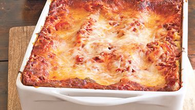 Cheesy Beef Lasagna