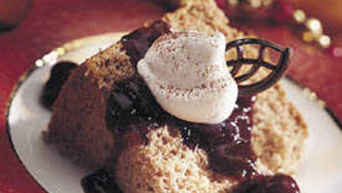 Chocolate-Cherry Angel Cake