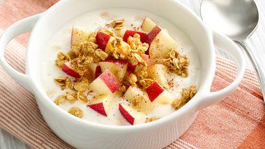 Apple-Cinnamon Crunch Yogurt Bowl