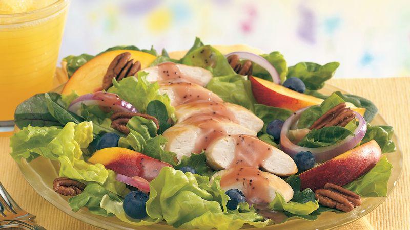Grilled Chicken Summer Salad