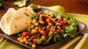 Heart Healthy Cookbook Corn and Black Bean Salad