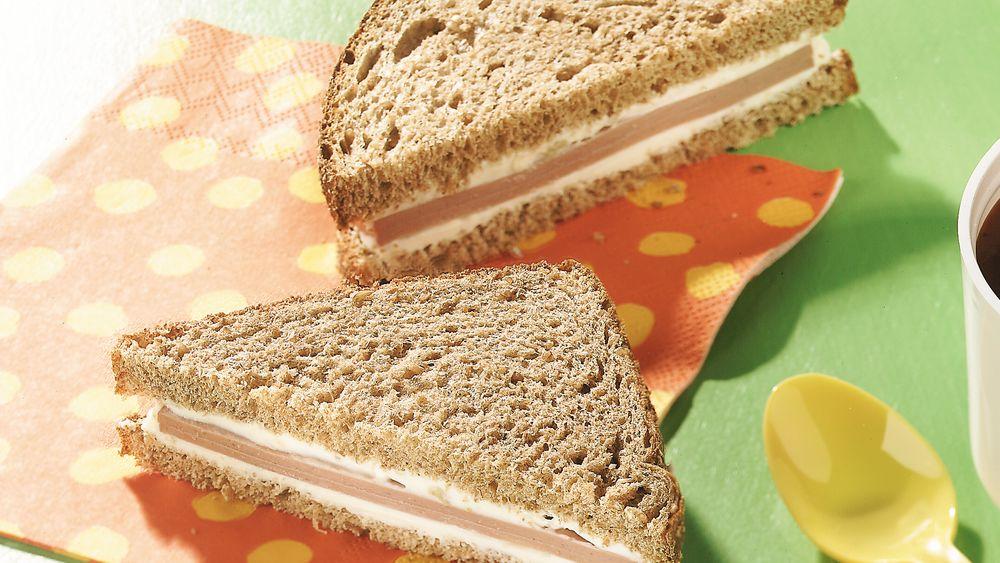 Cream Cheese-Bologna Sandwiches
