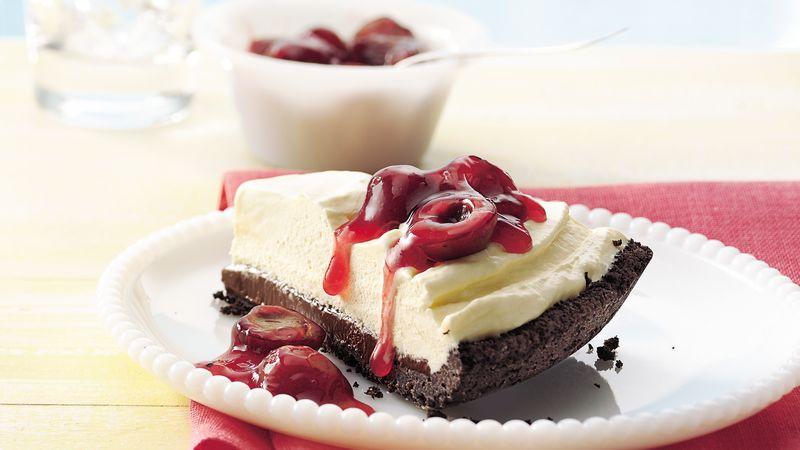 Cherry-Chocolate Ice Cream Pie