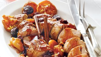 Roasted Pork with Port Sauce