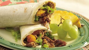 Slow-Cooker Hoisin Pork Wraps