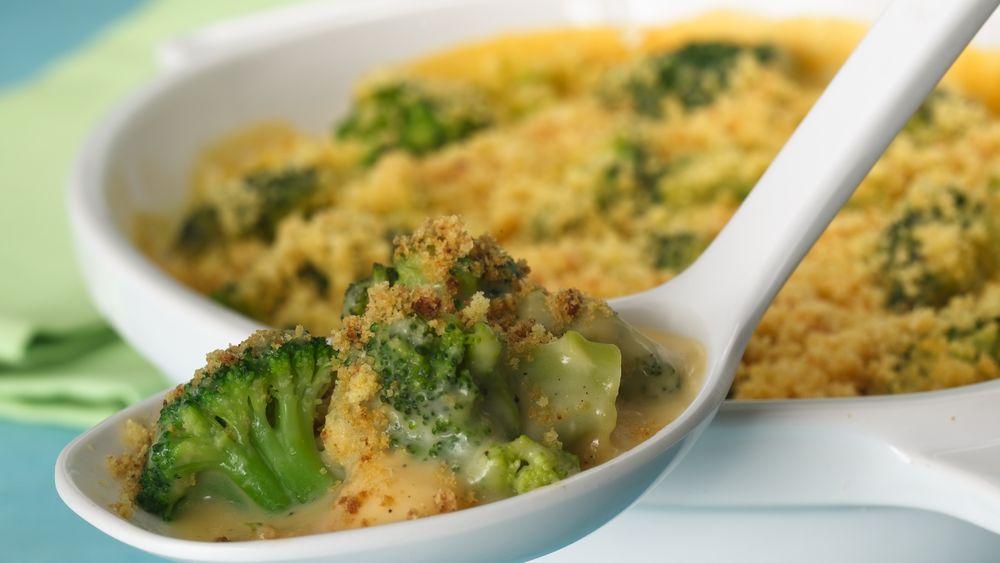 Cheesy Broccoli Bake