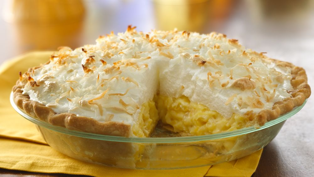 Pineapple Cream Pie