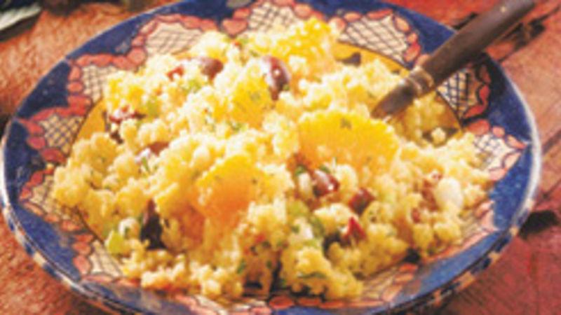 Orange Couscous Salad